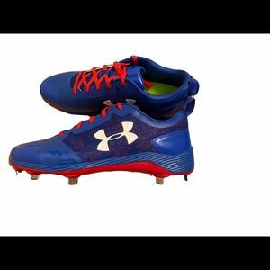 Under Armour Charged Metal Baseball Cleats Men's
